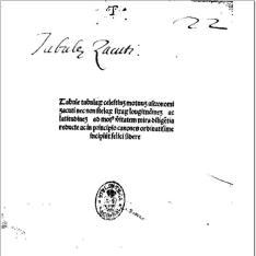 Almanach perpetuum (latine)