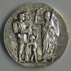 Medalla alegóirca de la República Francesa