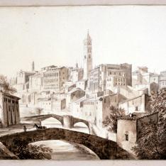 Vista de Tarazona, Zaragoza