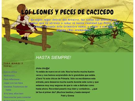 LOS LEONES Y PECES DE CACICEDO