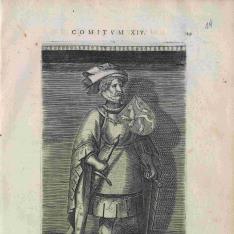Retrato de Diderick VII