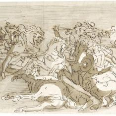 Batalla de caballería