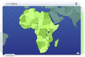 Geo Quizz África. Juegos Geográficos