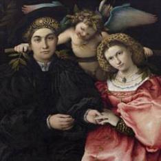 Micer Marsilio Cassotti y su esposa Faustina