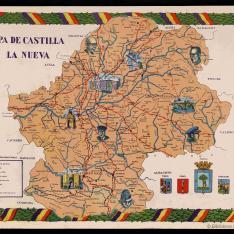 Mapa de Castilla la Nueva