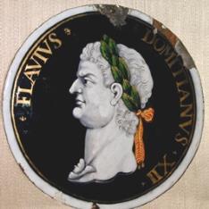 Retrato del emperador Domiciano