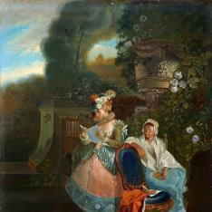 Retrato de María de las Nieves Fourdinier