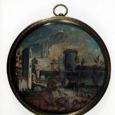 El incendio de la Bastilla