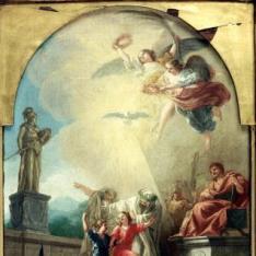 Los santos niños Justo y Pastor conducidos al martirio
