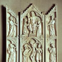 Tríptico con escenas de la vida de Cristo