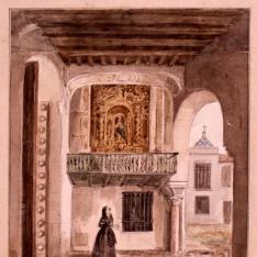 Entrada al patio de la Montería en el Alcázar de Sevilla