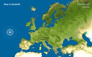 Eilanden van Europa. Toporopa
