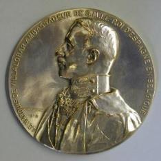 Rodrigo Saavedra, marqués de Villalobar, embajador de España en Bélgica
