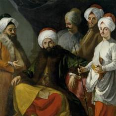 La embajada turca en Nápoles, año de 1741
