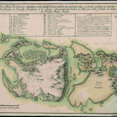 Plano de las Yslas Malvinas