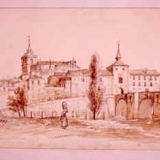 Vista de Aranda de Duero, Burgos