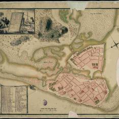 Plano de la Ciudad de Cartagena de las Indias