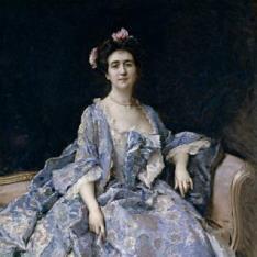 María Hahn, esposa del pintor