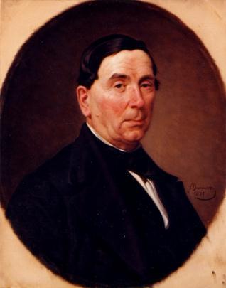 Retrato del compositor Nicolás Ledesma