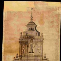 Proyecto para finalizar la torre de la catedral de Murcia