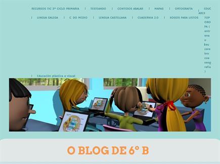 O blog de 6º B