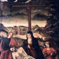 Retrato (Llanto por Cristo muerto en el reverso)