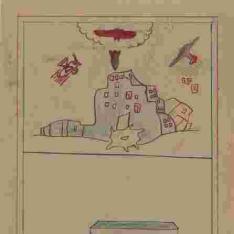 Bombardeo y casa