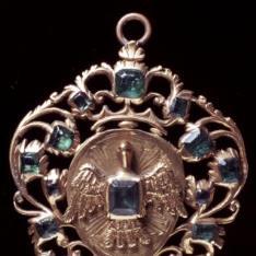 Medalla calada con el Espíritu Santo