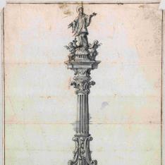 Proyecto de monumento a San Francisco Javier