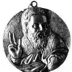 Medalla con Dios Padre