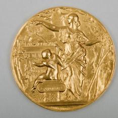 Segunda Medalla del Salón de la Societe des Artistes Français de París. 1895