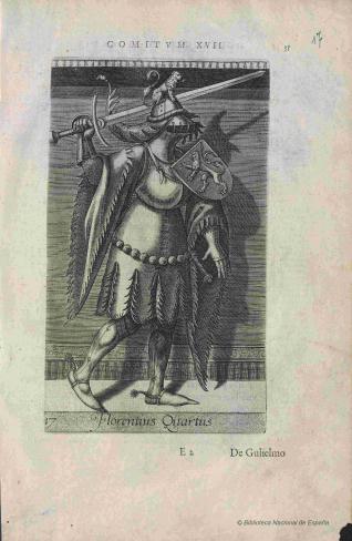 Retrato de Floris IV