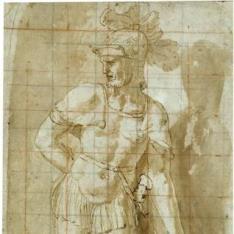 Guerrero con escudo