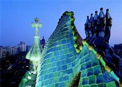 Barcelona a lomos del dragón