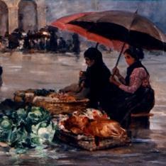 Mercado en Portugalete