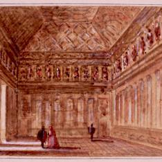 Interior del Salón de Reyes, Alcázar de Segovia