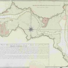 Plano de la Ría de Navia