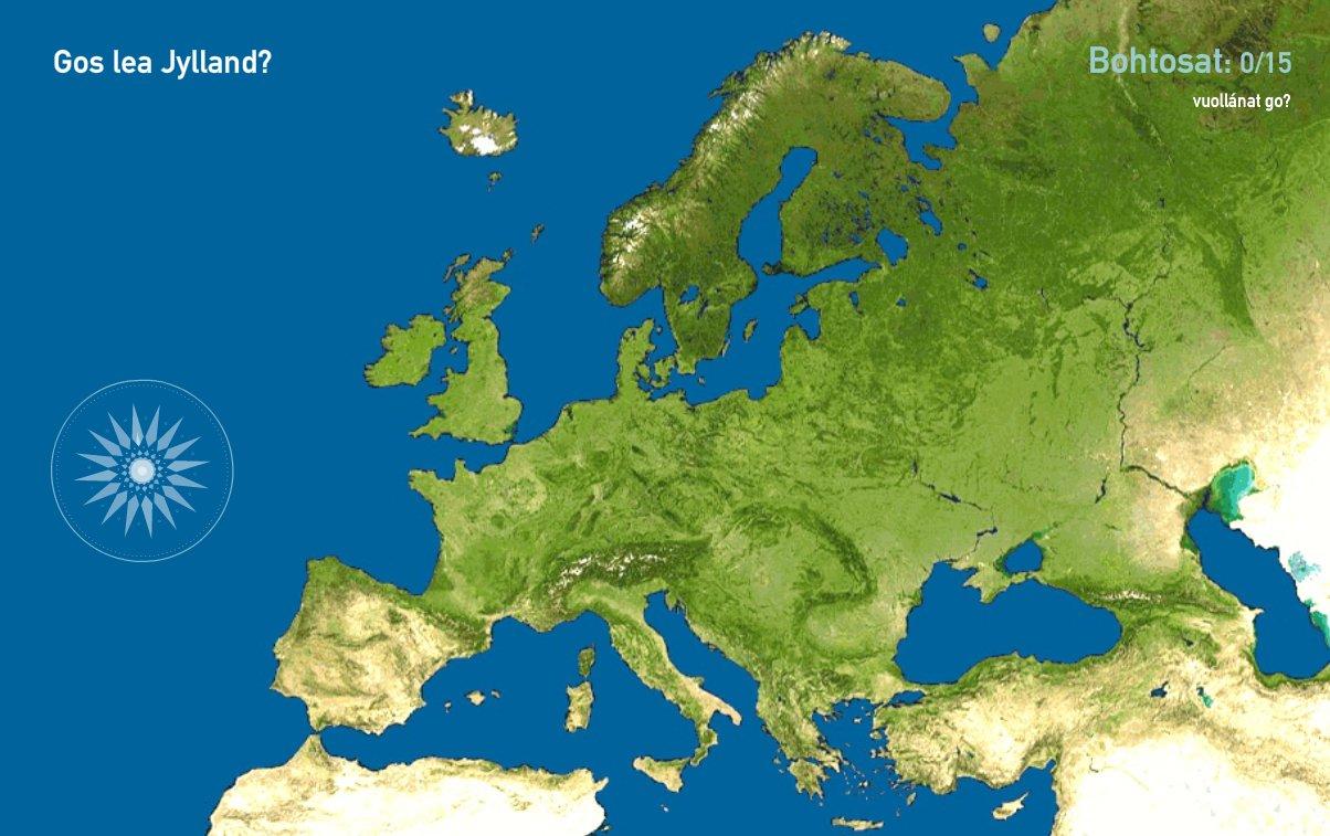 Eurohpá njárggat. Toporopa