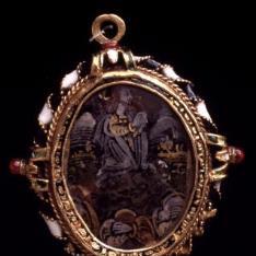 Medallón-relicario