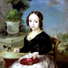 Retrato de una niña Medinaceli
