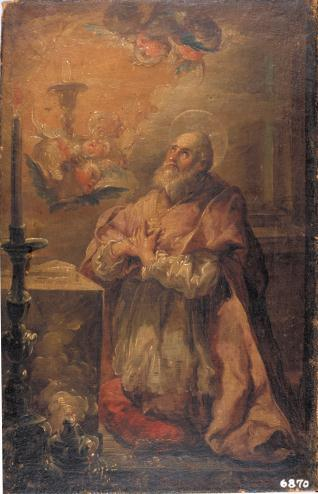 San Juan de Ribera en oración