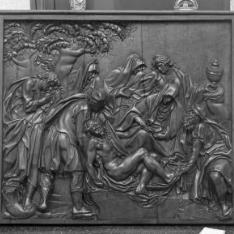 La Oración en el Huerto, Llanto por Cristo muerto y Última Cena