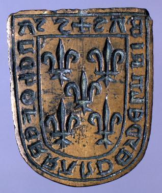 Matriz para el sello de Sancho Ferrández de las Ribas, de Orozco