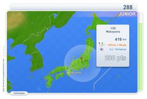 Cities of Japan Junior . Geography map games