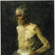 Viejo desnudo