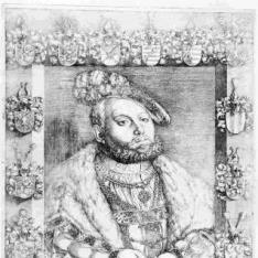 Retrato de Johann Friedrich I, Elector de Sajonia