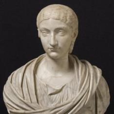 Retrato de una romana joven