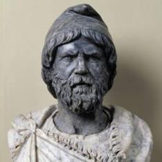 Dacio del Foro de Trajano en Roma