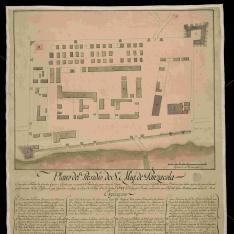 Plano del Presidio de Sn. Migl. de Panzacola