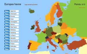 Europas havne. Toporopa